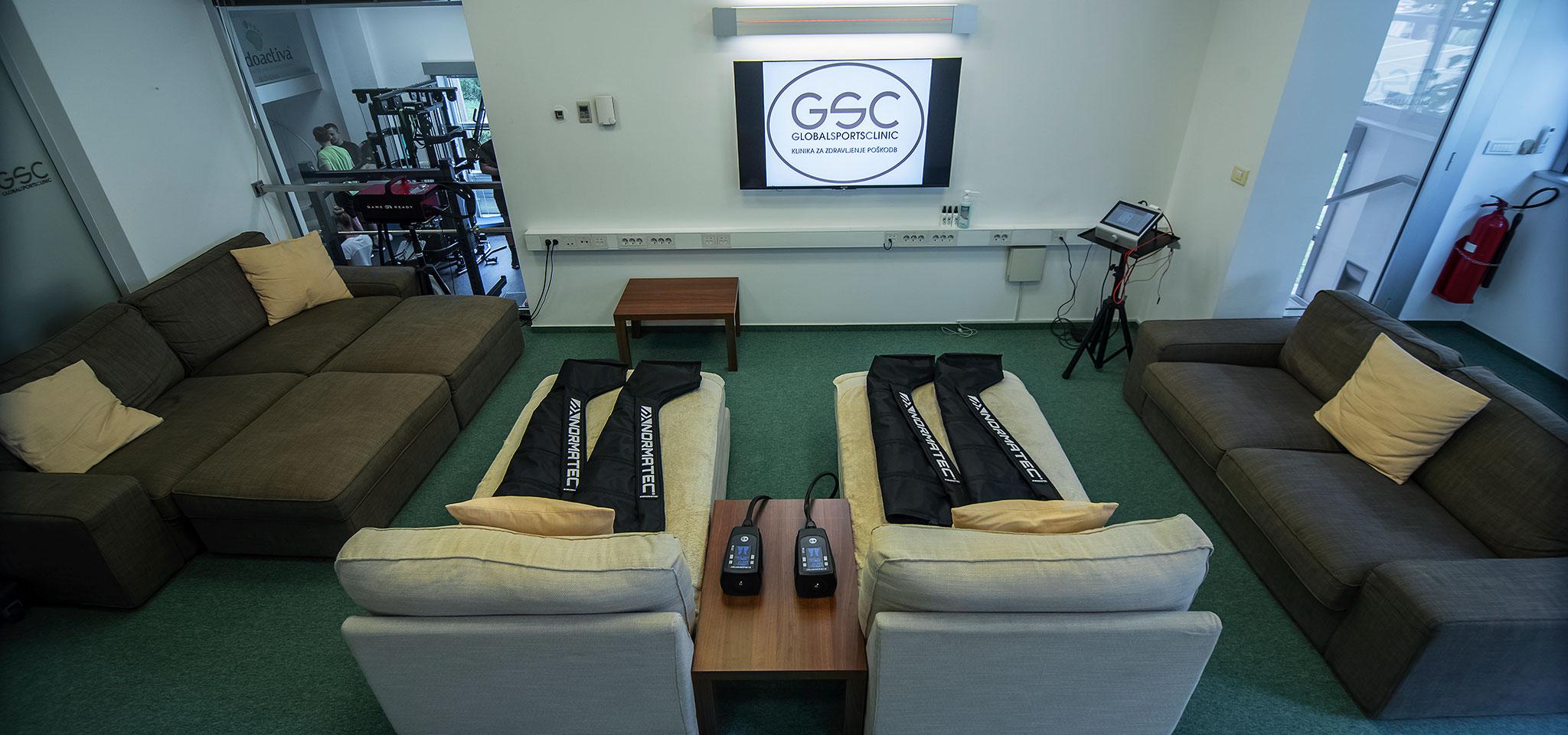 Lounge za regeneracijo